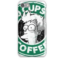 100 cups of coffe fry iPhone Case/Skin