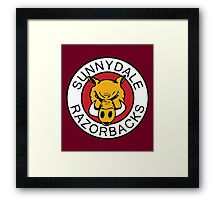 Sunnydale Razorbacks Series 1-3 Framed Print