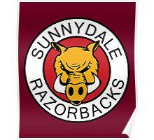 Sunnydale Razorbacks Series 1-3 Poster