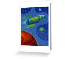 Space Oddity 2016 Greeting Card