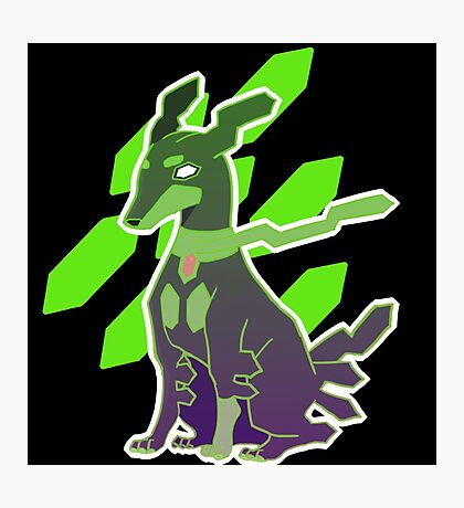 Zygarde 10% Form Photographic Print