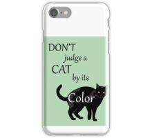 Cat Poster iPhone Case/Skin