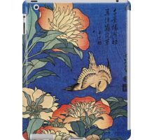 'Flowers' by Katsushika Hokusai (Reproduction) iPad Case/Skin