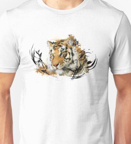 Distant Tiger Unisex T-Shirt