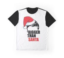 Bigger Than Santa- Justin Bieber - Belieber Christmas Graphic T-Shirt