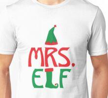 Mrs. Elf - Miss - Christmas Holiday Santa's Helper Unisex T-Shirt