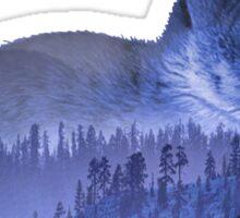 Misty Forest Bunny - Purple Sticker