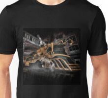 Steampunk Train Unisex T-Shirt