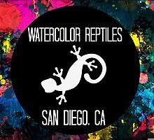 Watercolor Reptiles  - Circle Logo by WCReptiles