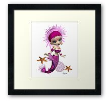 Mermaid Queen Framed Print