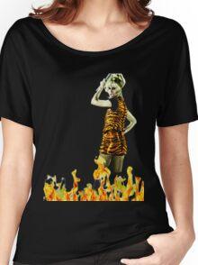 Xanadu Burnin' Hot  Women's Relaxed Fit T-Shirt