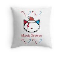 Meowie Christmas 6 Throw Pillow