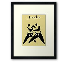 JUDO...the Dance of Champions! Framed Print