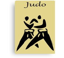 JUDO...the Dance of Champions! Canvas Print