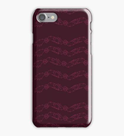 Red Holly iPhone Case/Skin