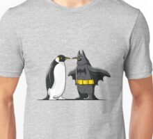 Super Penguin Bat Hero Man Movies Save World Gift Shirt Unisex T-Shirt