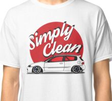 Simply Clean Civic Classic T-Shirt