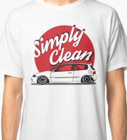 Simply Clean Civic Classic T-Shirt
