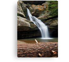 Cedar Falls in the Hocking Hills Canvas Print