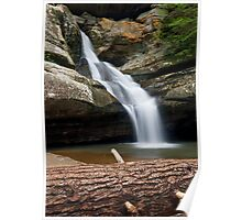 Cedar Falls in the Hocking Hills Poster