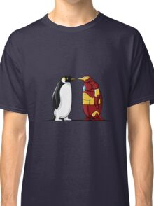 Super Penguin Iron Hero Man Movies Save World Gift Shirt Classic T-Shirt