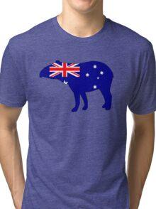 Australian Flag - Tapir Tri-blend T-Shirt