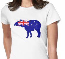 Australian Flag - Tapir Womens Fitted T-Shirt