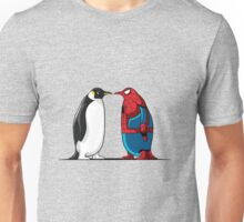 Super Penguin Spider Hero Man Movies Save World Gift Shirt Unisex T-Shirt