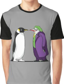Super Penguin Joke Hero Puddin Movies Save World Gift Shirt Graphic T-Shirt