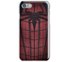 The amazing spiderman suit logo iPhone Case/Skin