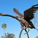 David Sherlock - Black Swan Sculpture by Julie Sherlock