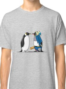 Super Penguin Harley Hero Puddin Movies Save World Gift Shirt Classic T-Shirt