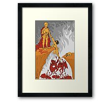 Don Giovanni Poster Framed Print