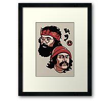 Cheech & Chong - 420 Framed Print