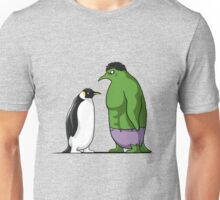 Super Penguin Green Hero Man Huge Movies Save World Gift Shirt Unisex T-Shirt