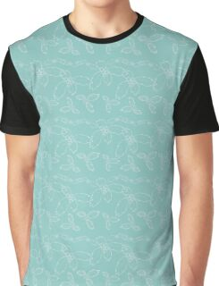Teal Holly  Graphic T-Shirt