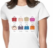 Stylish Handbag Week Womens Fitted T-Shirt