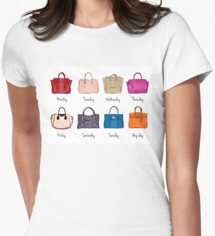 Stylish Handbag Week Womens Fitted T-Shirt