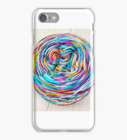 Curvy And Colorful iPhone Case/Skin