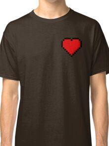 8-Bit Heart Classic T-Shirt