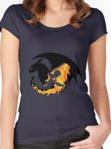how to train your dragon Women's Fitted Scoop T-Shirt