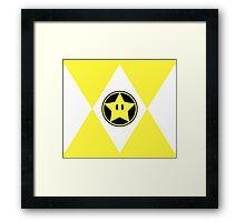 Star Plumber Ranger Framed Print