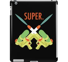 SUPER.  iPad Case/Skin