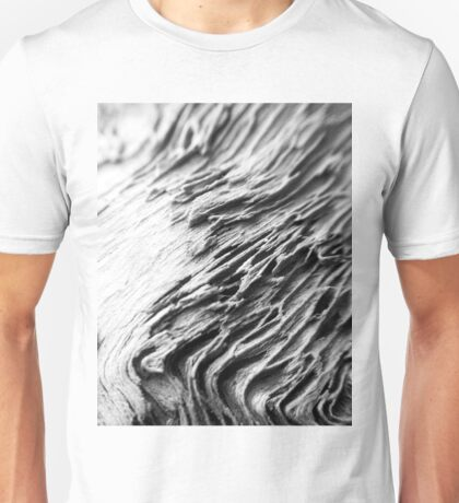 Waves of Grain in Grey  Unisex T-Shirt