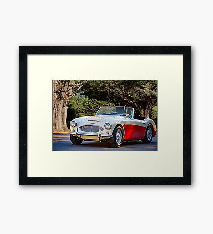 1957 Austin-Healey 100-6 Roadster Framed Print