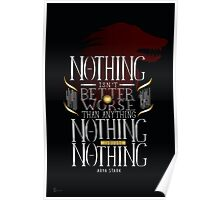 Nothing is Nothing Poster