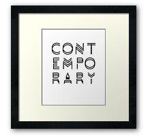 Contemporary  Framed Print