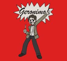 "The 11th Doctor Pilgrim-style--""Geronimo!""  by trumanpalmehn"