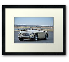 1963 Austin-Healey 3000 Roadster Framed Print