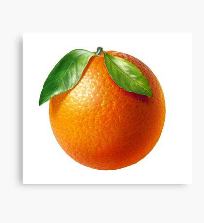 ORANGE fruit Canvas Print